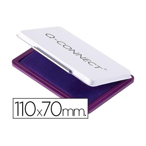 Q-Connect KF25213. Tampón para sellos violeta 110 x 70 mm.