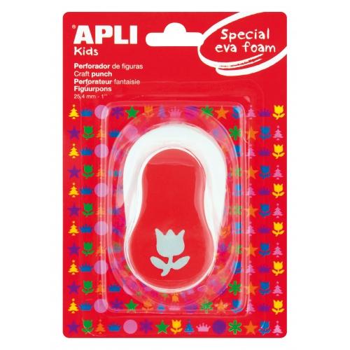 c1003fd742c APLI 13299. Perforadora de goma EVA figura Tulipán (25