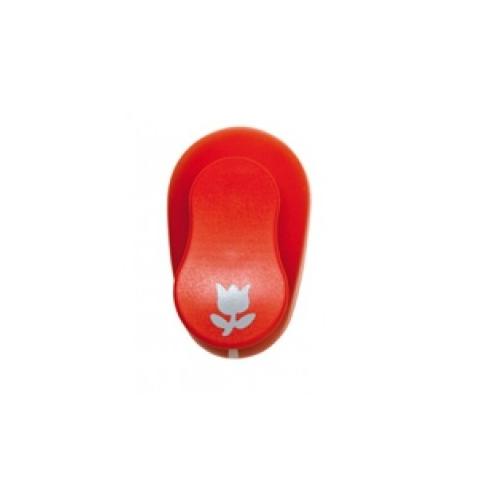 GRAFOPLAS 00064751. Perforadora para Goma EVA de 3.8 cm. Forma tulipán