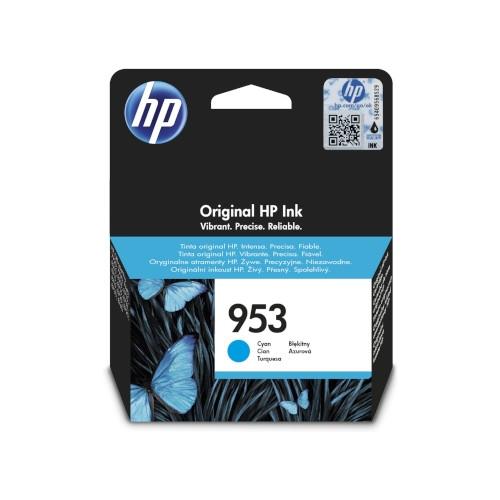 HP 953 Cartucho de tinta original cian - F6U12AE