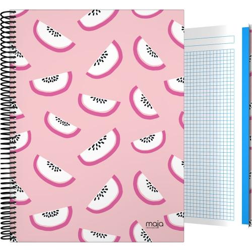 GRAFOPLÁS 16501985. Cuaderno tapa dura A4, 100 hojas, Maja Rönnbäck Kiwi