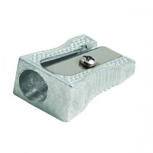 FAIBO 2001. Sacapuntas de aluminio con una entrada