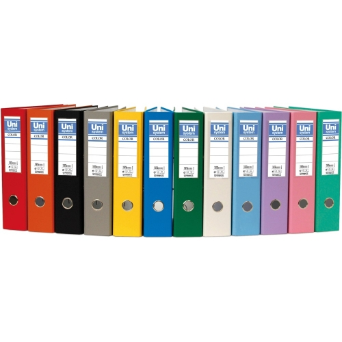 Unipapel 092484. Pack 6 archivadores de palanca A4 de 75 mm. Color azul