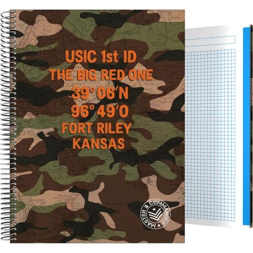 GRAFOPLÁS 16502603. Cuaderno tapa dura A4, 100 hojas, Master & Commander Verde