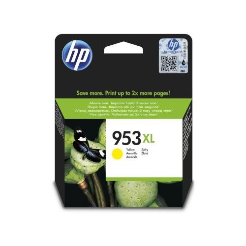 HP 953XL Cartucho de tinta original amarillo - F6U18AE
