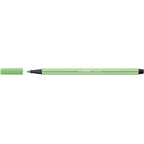 STABILO 68-16. Rotulador Pen 68 Trazo 1 mm. Esmeralda claro