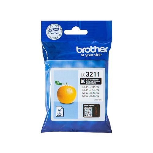 BROTHER LC3211BK Cartucho de tinta original negro - LC-3211BK