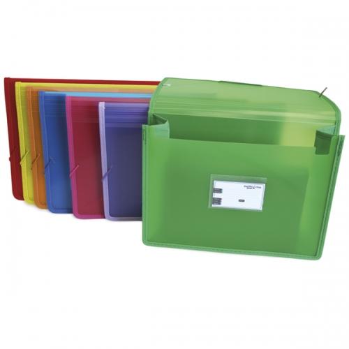 GRAFOPLÁS 048020. Carpeta Maxi con gomas y fuelle Multiline. Colores