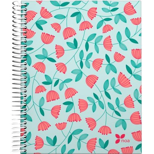 GRAFOPLAS 16511960. Cuaderno tapa dura A5 Noa Bloom
