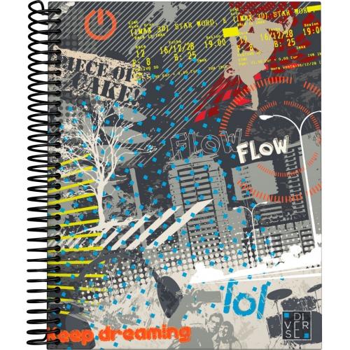 GRAFOPLAS 16511962. Cuaderno tapa dura A5 Diverse City