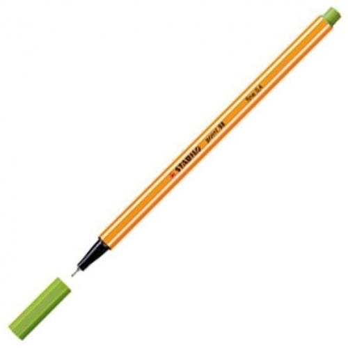 STABILO 88-33. Rotulador Point 88 Trazo 0.4 mm. Verde manzana