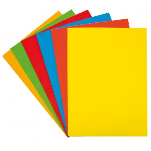 GRAFOPLAS 65009263. Papel multifunción 80 g. A4, 100 hojas. Color amarillo intenso