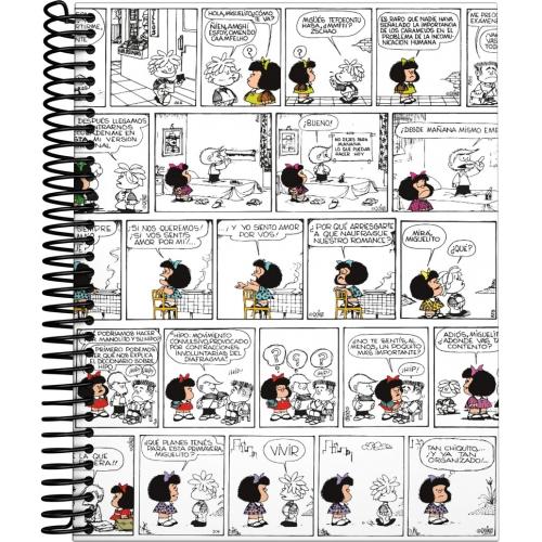 GRAFOPLAS 16511971. Cuaderno tapa dura A5 Mafalda Comic