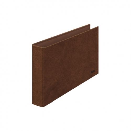 Dohe 09566 – Carpeta cuero forrado 2 anillas de 25 mm. cuarto apaisado