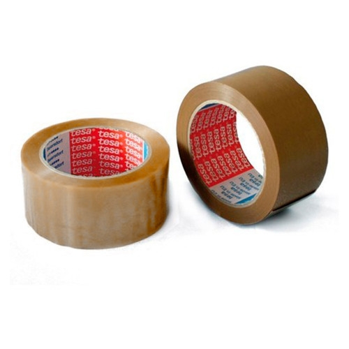 TESA 04089. Cinta adhesiva de polipropileno 66 mt x 50 mm.