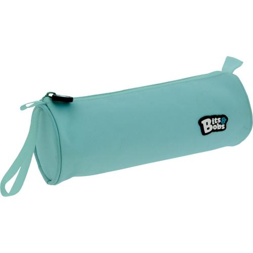GRAFOPLAS 37543731. Estuche escolar portatodo Redondo Bits&Bobs azul claro