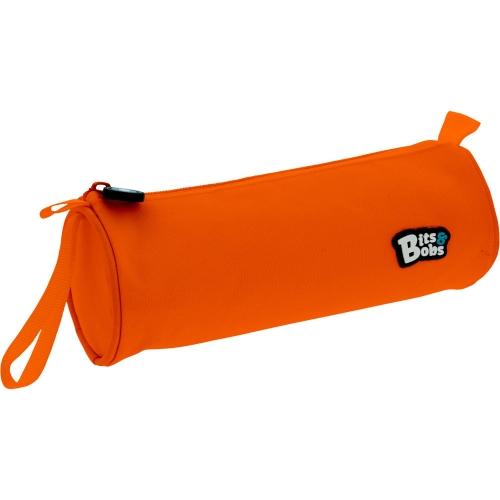 GRAFOPLAS 37543752. Estuche escolar portatodo Redondo Bits&Bobs naranja