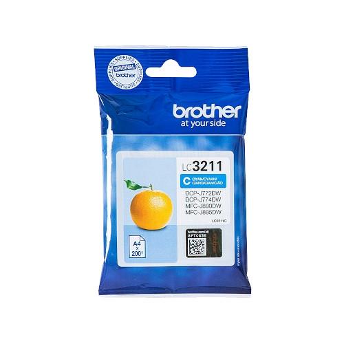 BROTHER LC3211C Cartucho de tinta original cian - LC-3211C