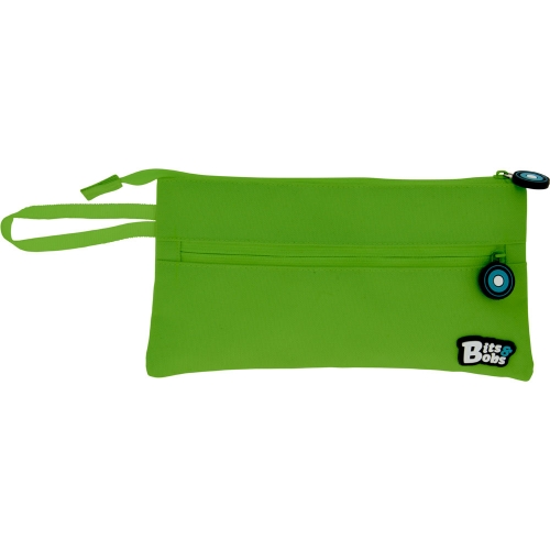 GRAFOPLAS 37543820. Estuche escolar portatodo Plano Bits&Bobs verde