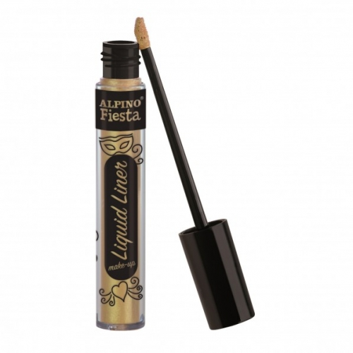 ALPINO DL000211. Caja 4 tubos de maquillaje Liquid Liner oro