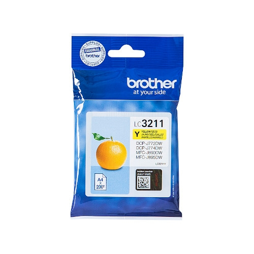 BROTHER LC3211Y Cartucho de tinta original amarillo - LC-3211Y