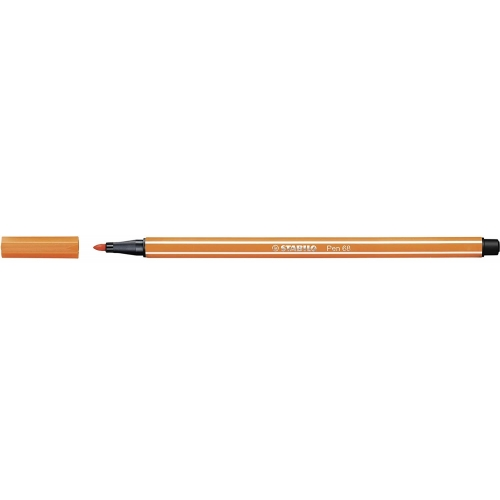 STABILO 68-30. Rotulador Pen 68 Trazo 1 mm. Bermellón pálido