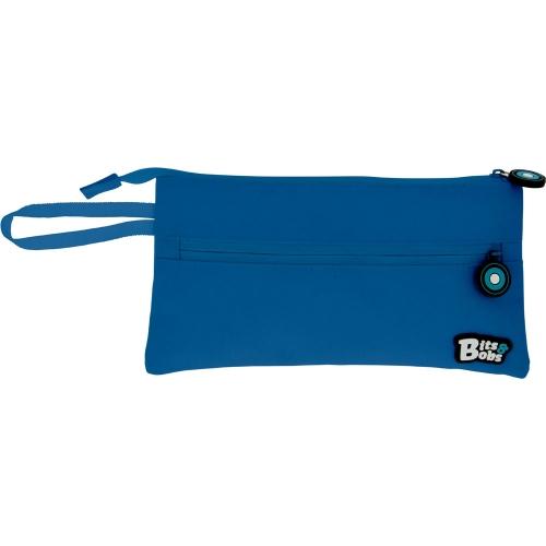 GRAFOPLAS 37543830. Estuche escolar portatodo Plano Bits&Bobs azul