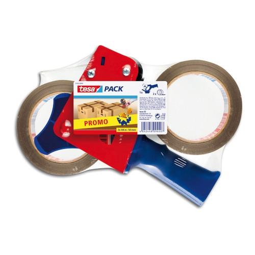 TESA 57455 Portarrollos para cinta de embalaje de 50 mm