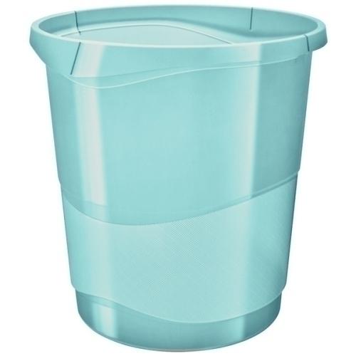 Esselte Papelera de plástico 14 litros Colour Ice