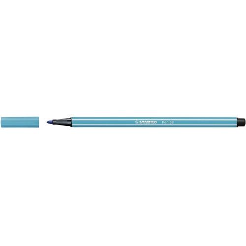 STABILO 68-31. Rotulador Pen 68 Trazo 1 mm. Azul claro