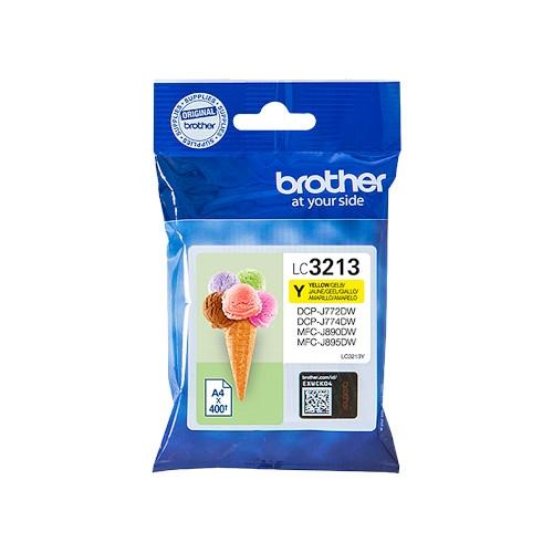 BROTHER LC3213Y Cartucho de tinta original amarillo XL - LC-3213Y