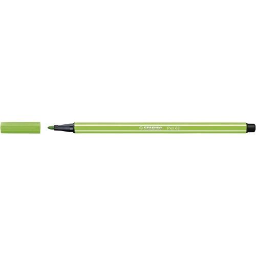 STABILO 68-33. Rotulador Pen 68 Trazo 1 mm. Verde claro
