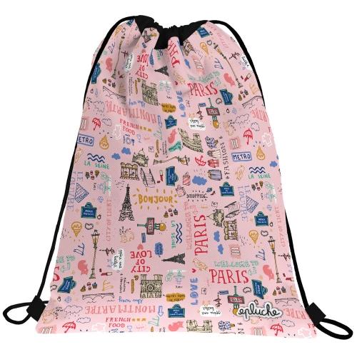 GRAFOPLAS 37610548. Mochila saco con cuerdas LAURIE PARIS