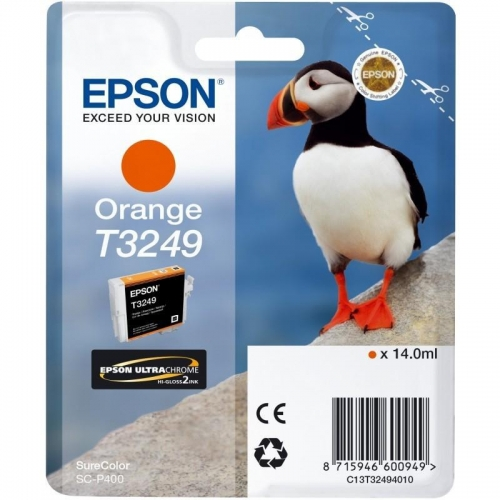 Epson T3249 Cartucho de tinta original naranja C13T32494010
