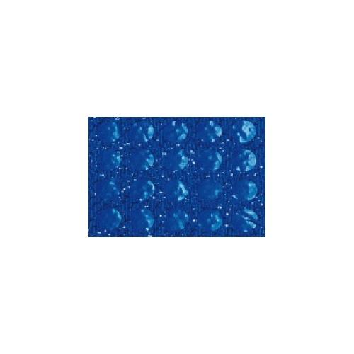 GRAFOPLAS 00037330. Pack 5 láminas de Goma Eva metal de 40 x 60 cm. Color azul