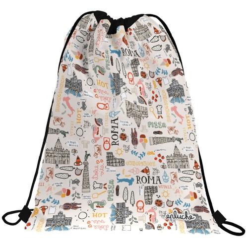 GRAFOPLAS 37610549. Mochila saco con cuerdas LAURIE ROMA