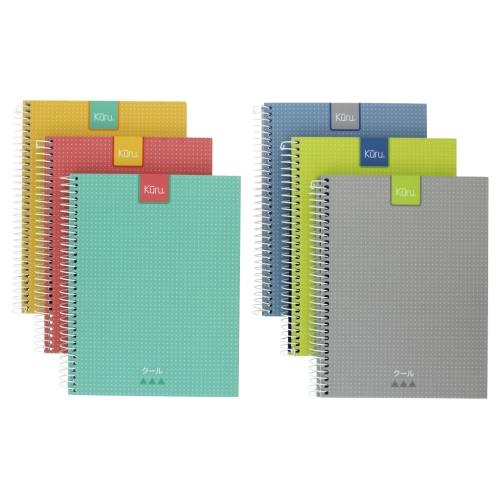 GRAFOPLAS 88525430. Cuaderno tapa dura A5 Kuru azul