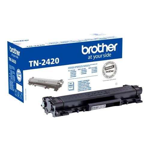BROTHER TN2420 Cartucho de tóner original negro - TN-2420