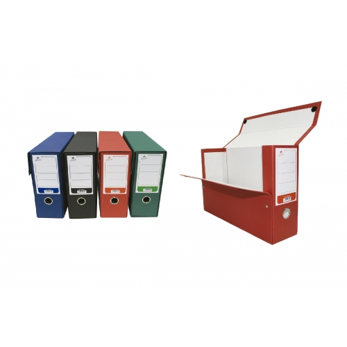 Mariola 1675OL5. Caja de transferencia A4 con ollao verde