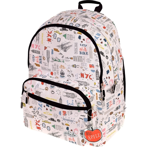 GRAFOPLAS 37502105. Mochila escolar Hunter Laurie Brochard NYC
