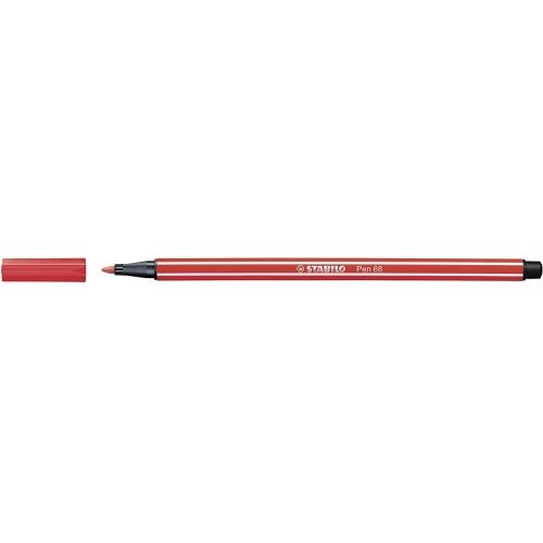 STABILO 68-48. Rotulador Pen 68 Trazo 1 mm. Rojo carmín