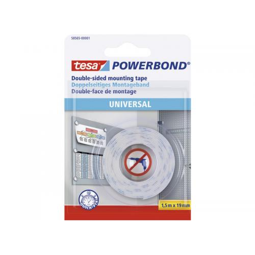 Tesa cinta adhesiva doble cara powerbond universal for Cinta adhesiva doble cara tesa