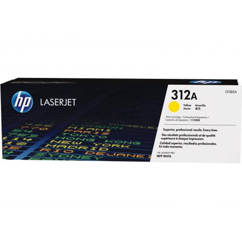 HP 312A - Toner Laser original Nº 312 A Amarillo - CF382A