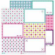 GRAFOPLAS 37011719. Papeles scrapbooking (Tarjetas grandes) colección Mosaico