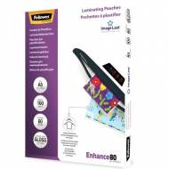 Fellowes 5306002. Pack 100 Fundas Plastificar 80 micras Brillo A5