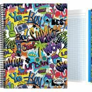 GRAFOPLÁS 16502623. Cuaderno tapa dura A4, 100 hojas, Mood Crush