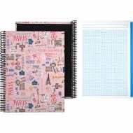 GRAFOPLÁS 16502625. Cuaderno tapa dura A4, 100 hojas, Laurie París
