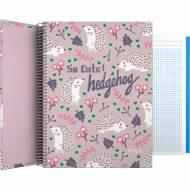 GRAFOPLÁS 16502636. Cuaderno tapa dura A4, 100 hojas, Elena Corredoira Hedgehog