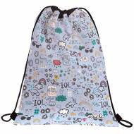 GRAFOPLAS 37610522. Mochila saco con cuerdas Laurie Brochard Girl Power