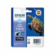 Epson T1575 Cartucho de tinta original cian claro C13T15754010